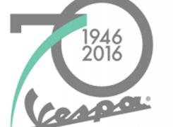 70ste verjaardag Vespa!